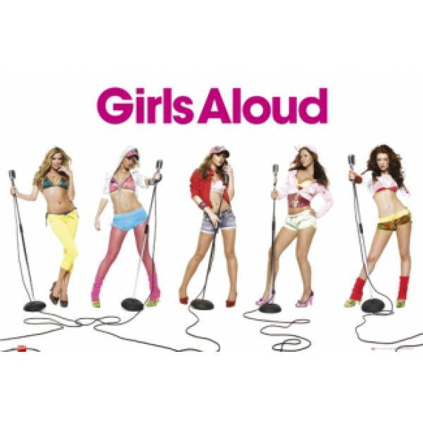 Pôster para Quadros Girls Aloud Color 90x60 Cm
