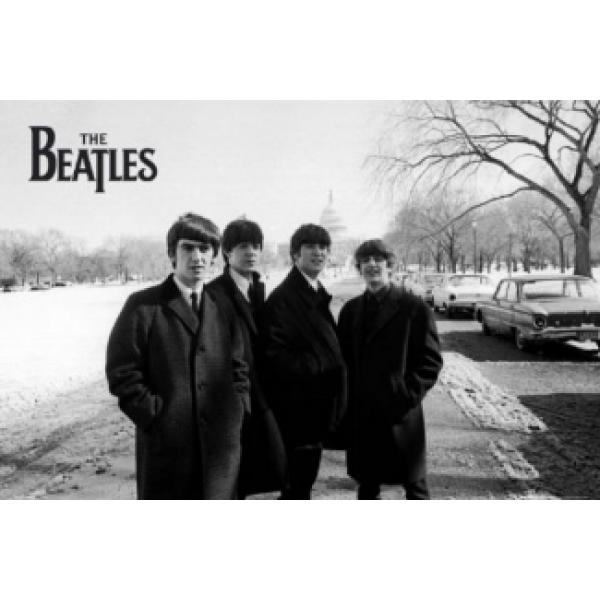 Pôster para Quadros The Beatles Lp1029 - 90x60 Cm