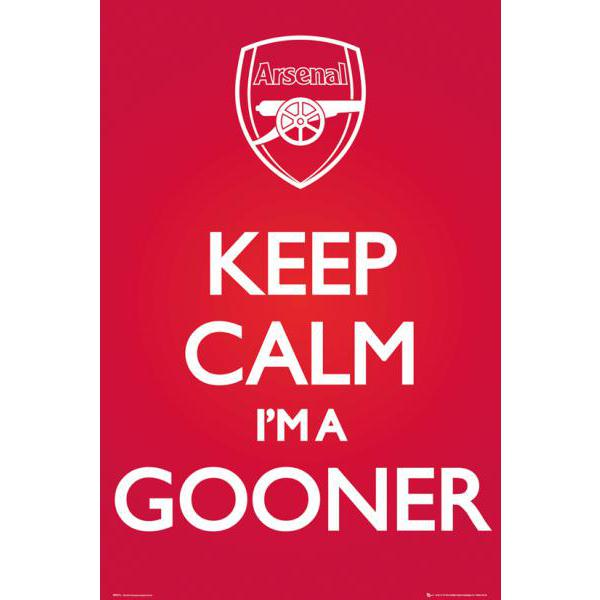 Gravura Time Arsenal Football Club Sp0816 - 60x90 Cm