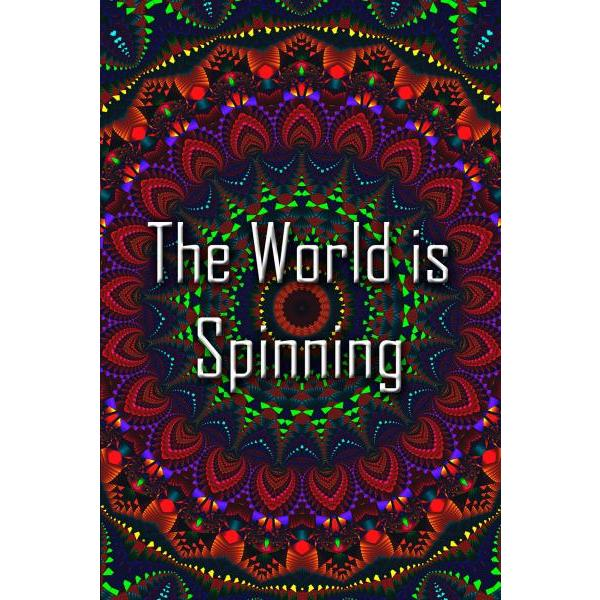 Gravura para Quadros Mandala Colorida The Wold Is Spinning - Afi4435